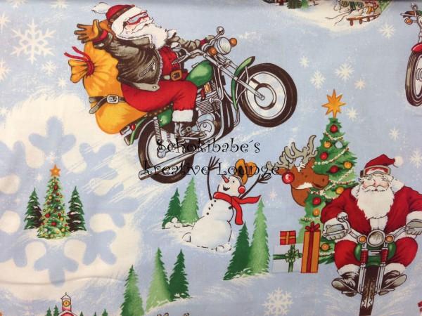 Baumwolle Santa Biker USA