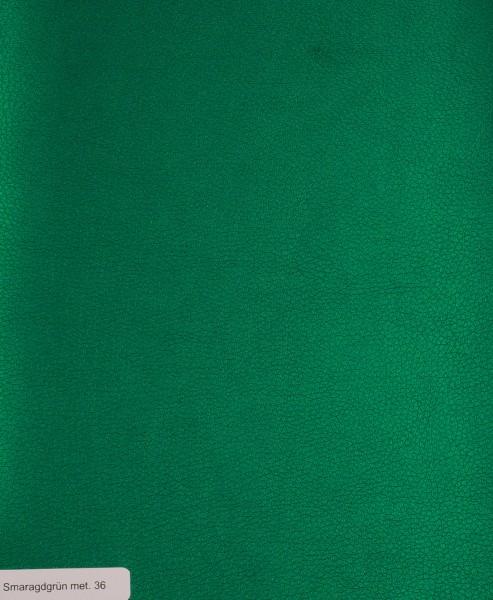 Kunstleder uni smaragdgrün #036