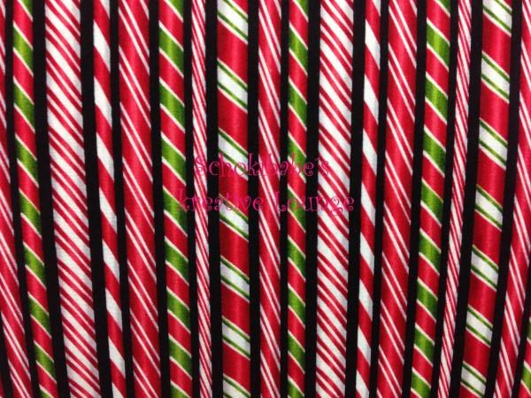 RESTSTÜCK 25 x 56 cm Baumwolle Candie Sticks