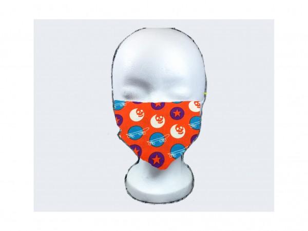 Gesichts Masken SKATEBOARD ROT
