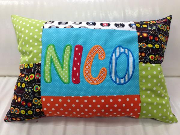 Namenskissen Nico