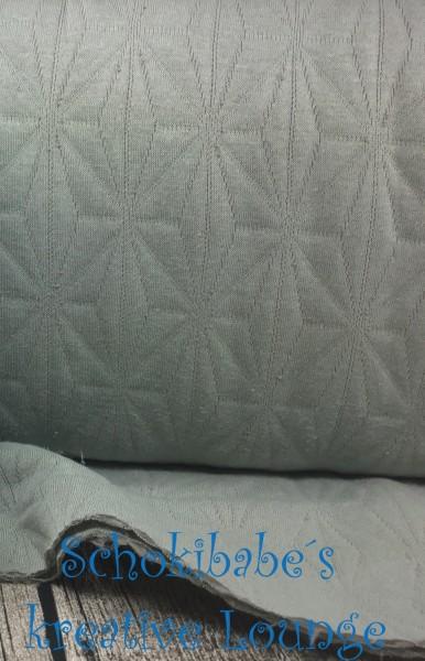 RESTSTÜCK 40 x 58 cm Stepper Sterne grau