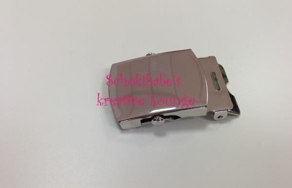 Gürtelschnalle 30mm neutral