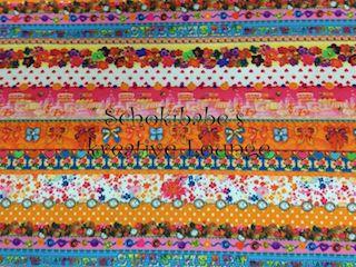 Baumwolle So Cute Abey Streifen & Reihen