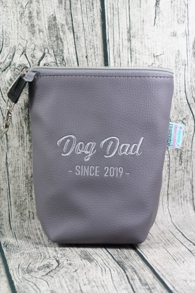 Gassi Taschi XXL Dog Dad dunkel - hellgrau