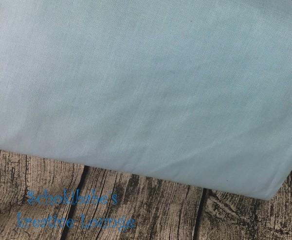 Baumwolle uni hellblau