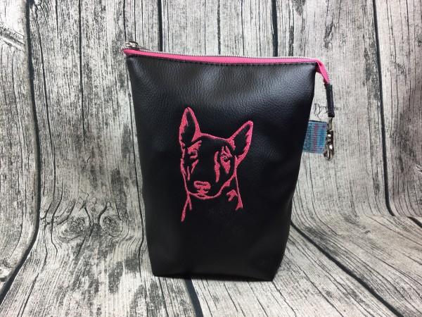 GassiTaschi Caruso pink - schwarz