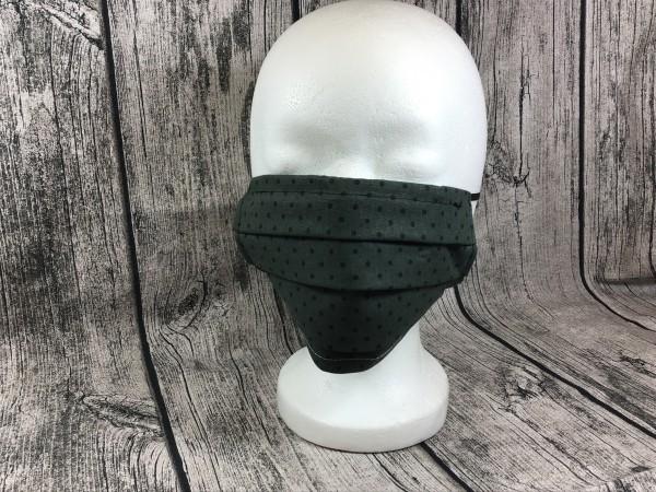 Gesichts Masken PUNKTE grün