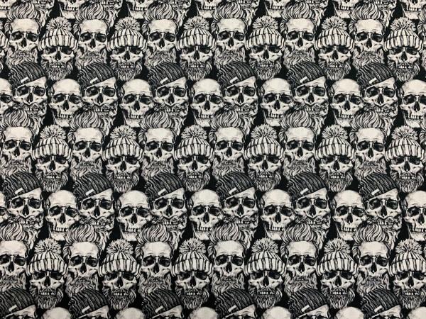 Baumwolle Skulls w/ Hat