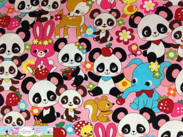 Canvas Kokka Panda & Tiere