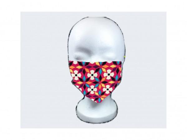 Gesichts Masken RETRO BLUMEN