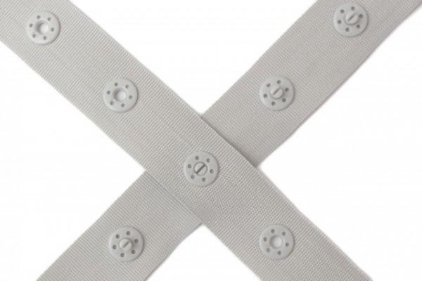 Farbenmix Druckerband grau