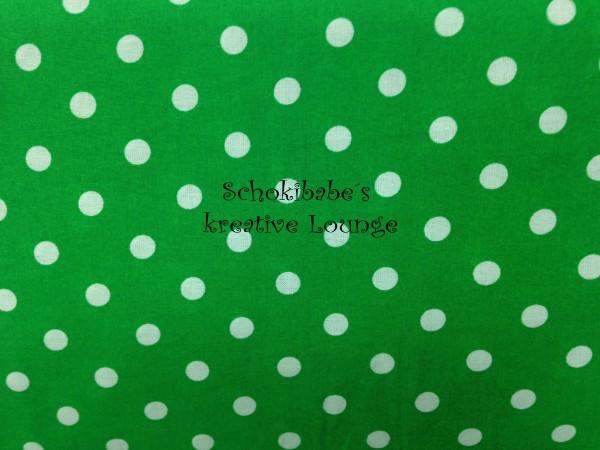 Baumwolle Punkte Grün