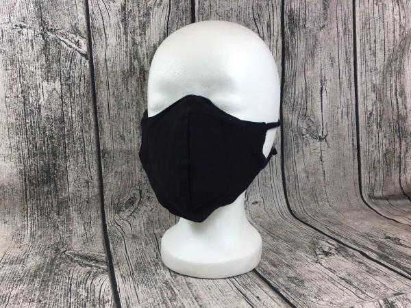 Gesichts Masken UNI schwarz