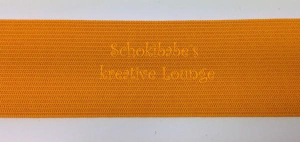 Gummiband orange 40 mm