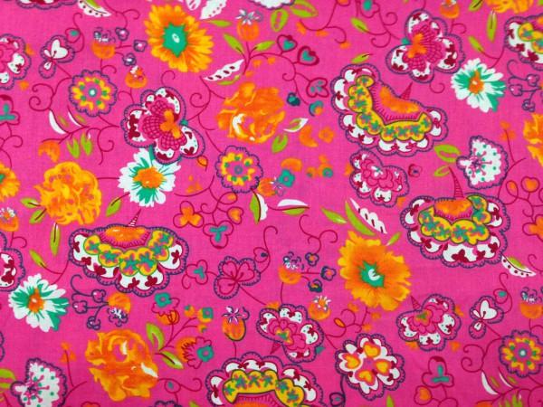 Baumwolle Oillie pink
