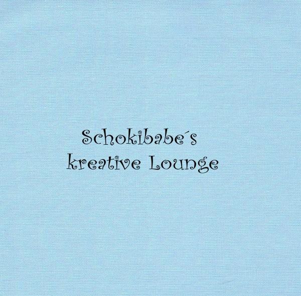 Stretchjersey uni hellblau