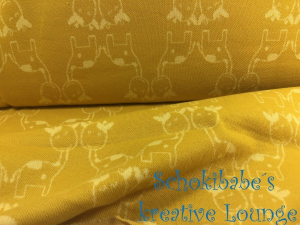 Jacquard Giraffe in Love