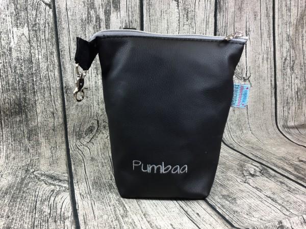 GassiTaschi Pumbaa grau - schwarz Rechtsträger