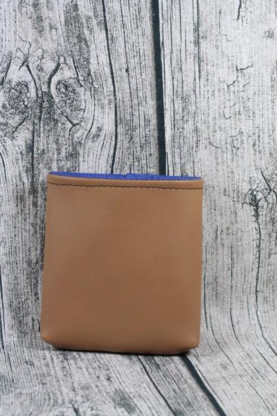 Mini Futterbeutel Kaylo braun - blau