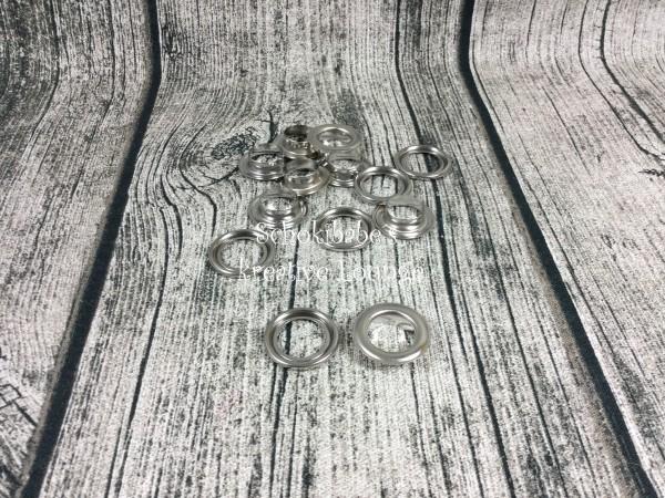 Ösen 12 mm silber