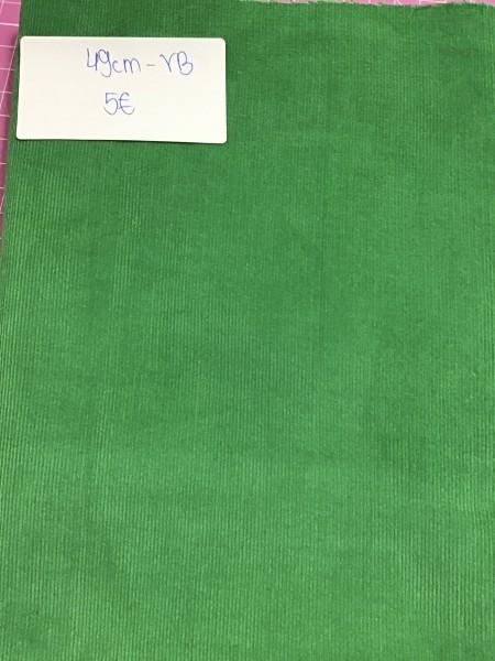 Reststück 49cm Feincord