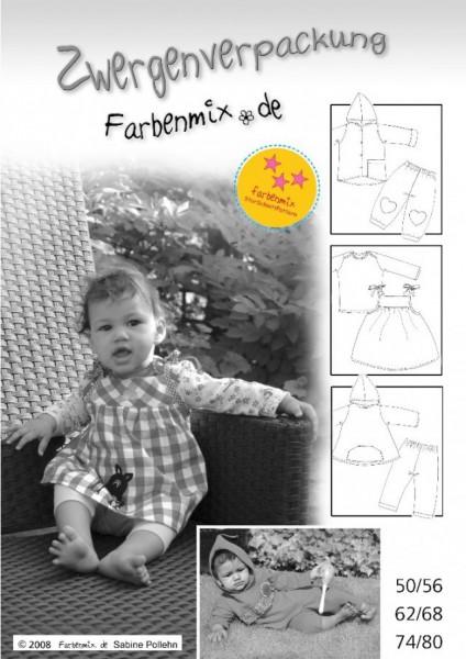 Schnittmuster Zwergenverpackung Vol. I von Farbenmix
